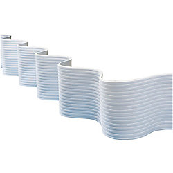 Dock Edge Flexguard Profile, 25 ft roll, White