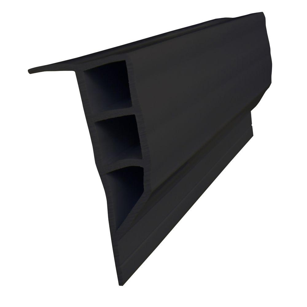 Dock Edge Full Face Profile, 24 feet/carton, Black