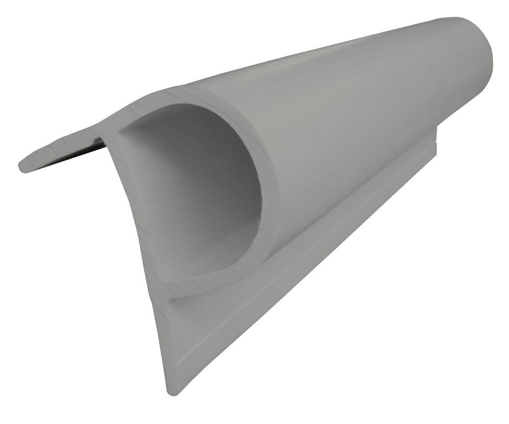 Small P Profile, 24ft/carton, Grey