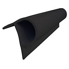 Small P Profile, 24 feet/carton, Black