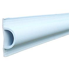 D Profile, 16 ft. Roll, White