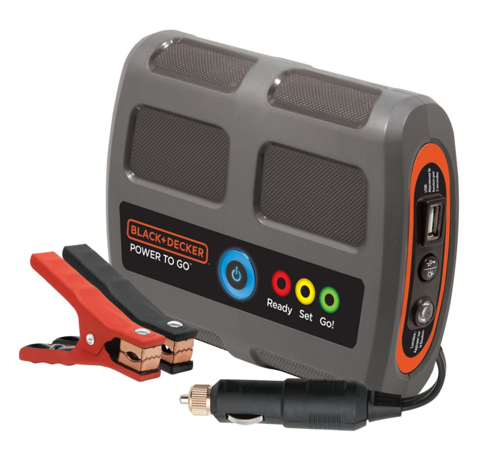 B&D Portable Power To Go Battery Booster P2G7BCA Canada Discount