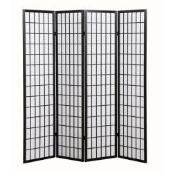 DURAWOOD Wooden Screen 4Panel