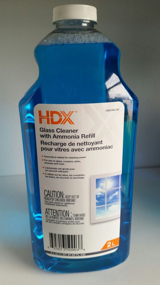 Cleaner HDX verre Recharge 2L