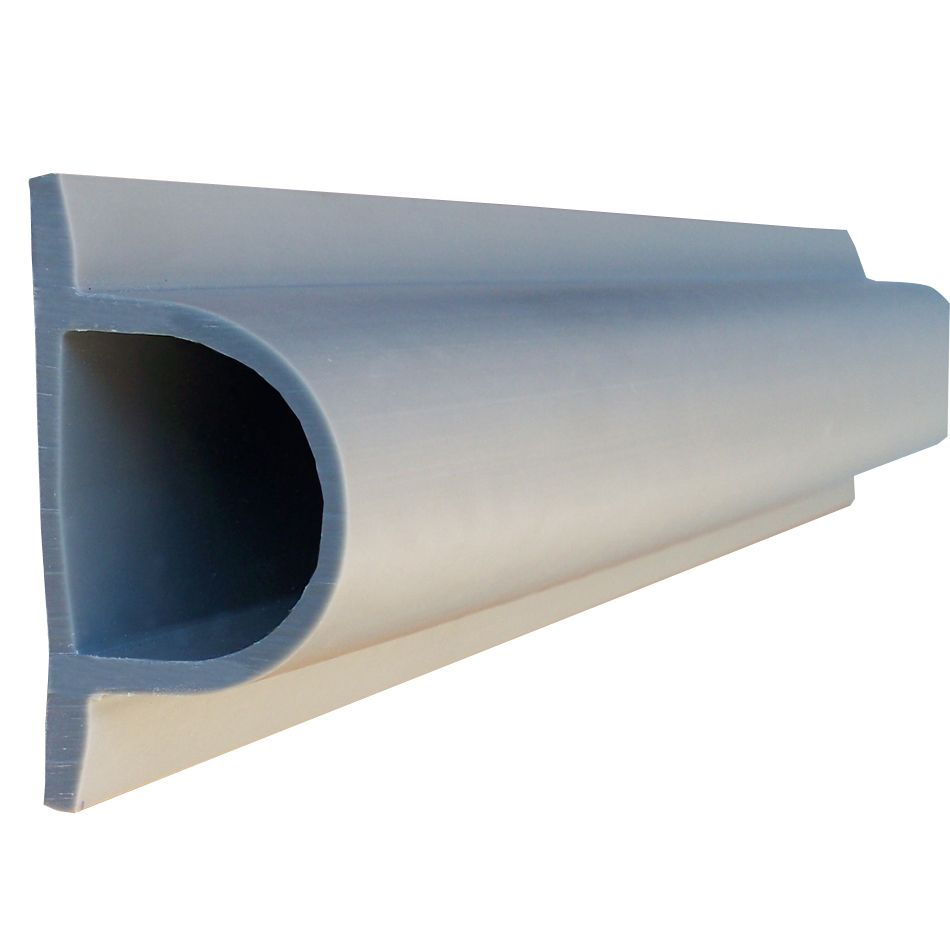"Heavy ""D"" PRODOCK Profile, 24 feet/carton, Grey"