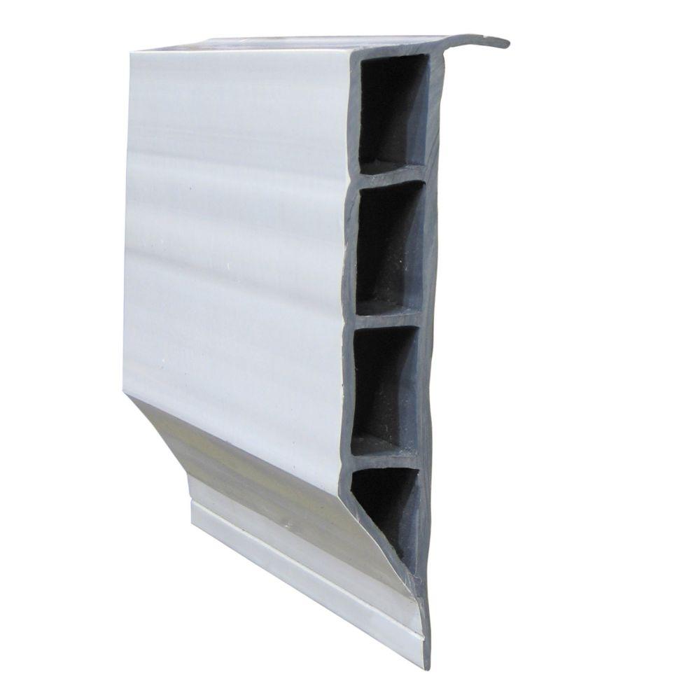Super Full Face Profile, 12 feet/carton, White