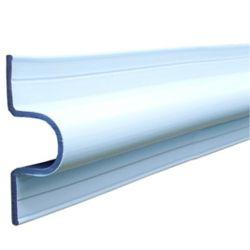 Dock Edge C Guard Profile, 10 feet Roll, White