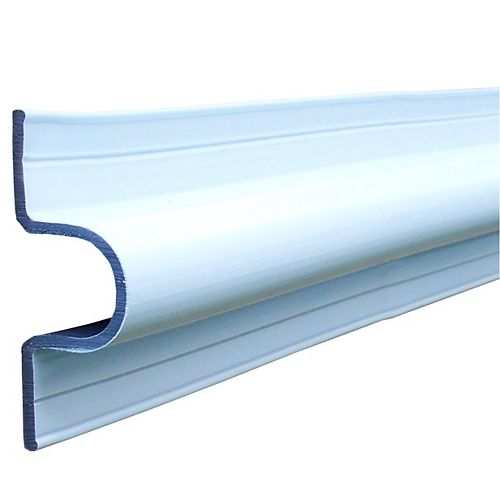 "Dock Edge """"""C"""" Guard Profile, 10ft Roll, Wh"""