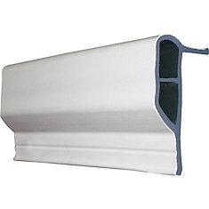 Dock Guard Profile, 90 feet/carton, White