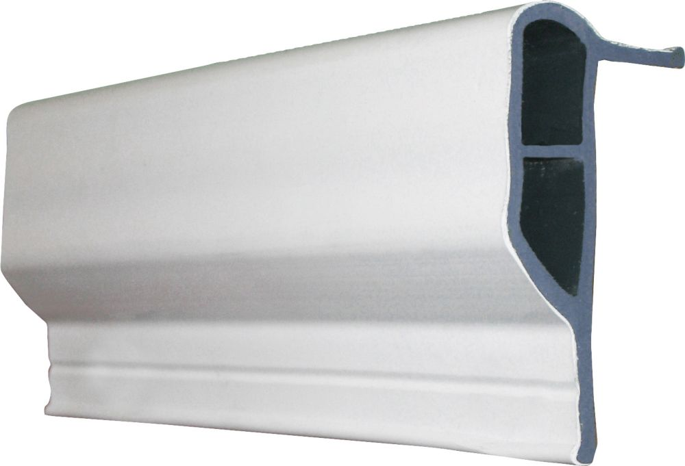 Glissière de quai, 90 pi/boîte, blanc