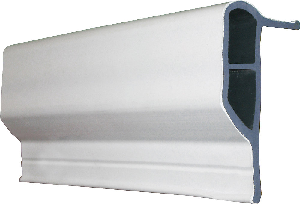 Dock Guard Profile, 10ft Roll, White