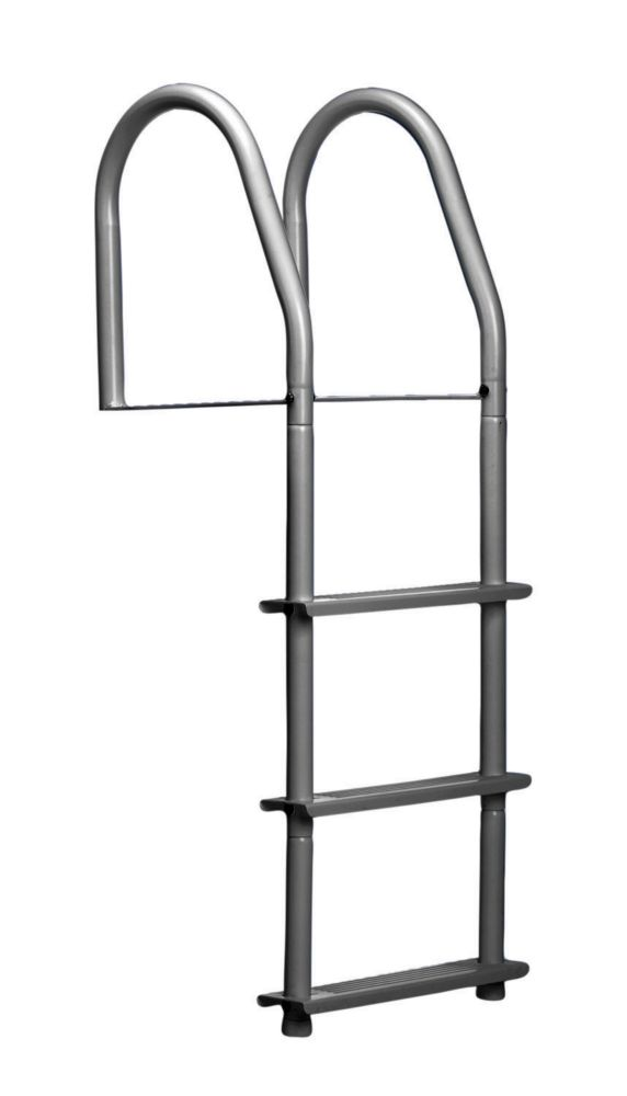 3 Step Stainless Steel Fixed Dock Ladder