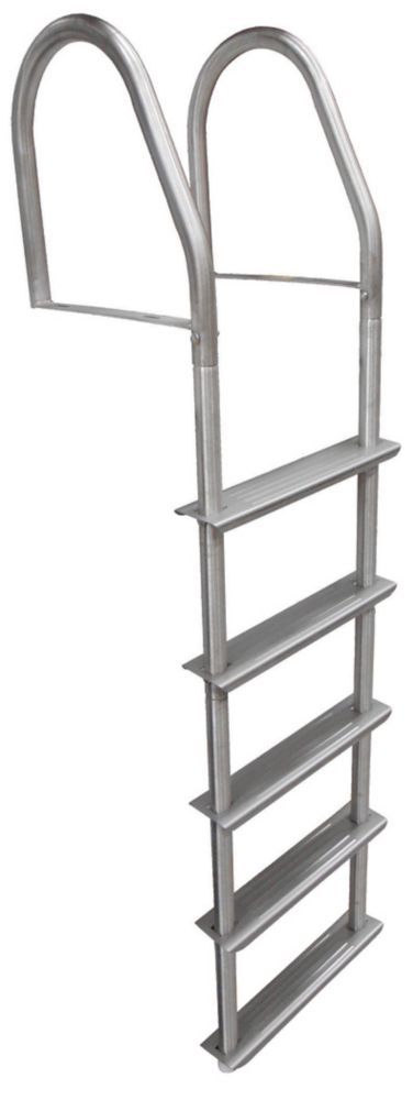 5 Step Stainless Steel Fixed Dock Ladder