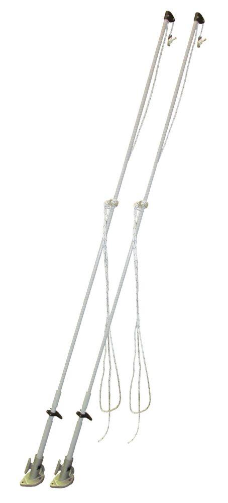 Dock Edge Mooring Whips, 14 feet, Premium