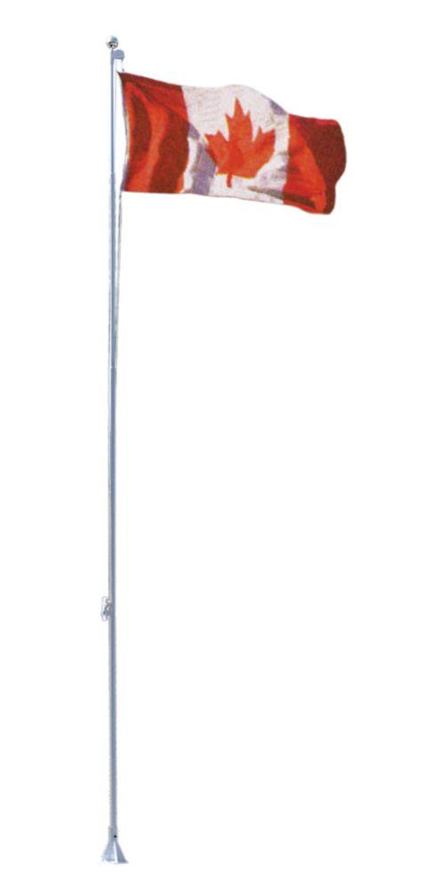 Flexi-Flag Pole, 21 Inch, with Canadian flag