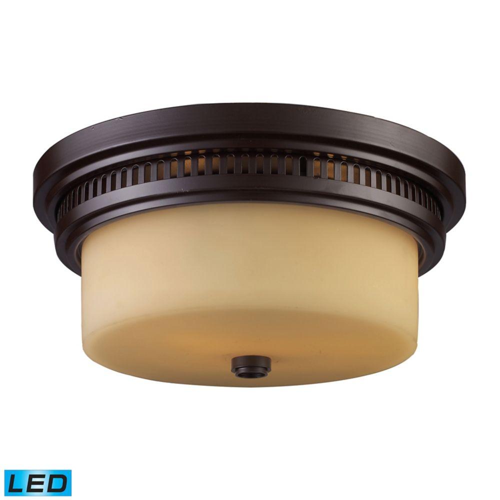 Chadwick 2-Light Flush Mount In - LED