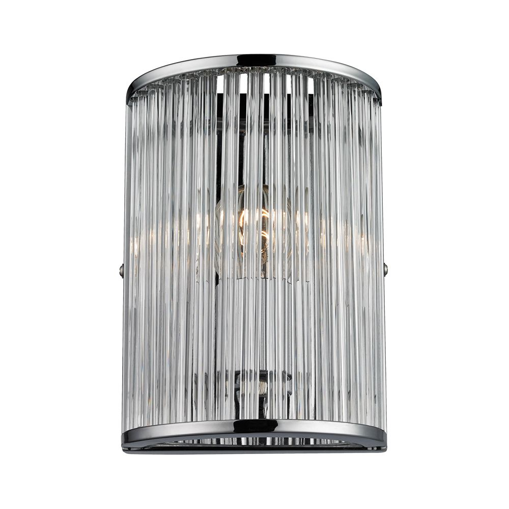 Braxton 1 Light Sconce In Polished Chrome