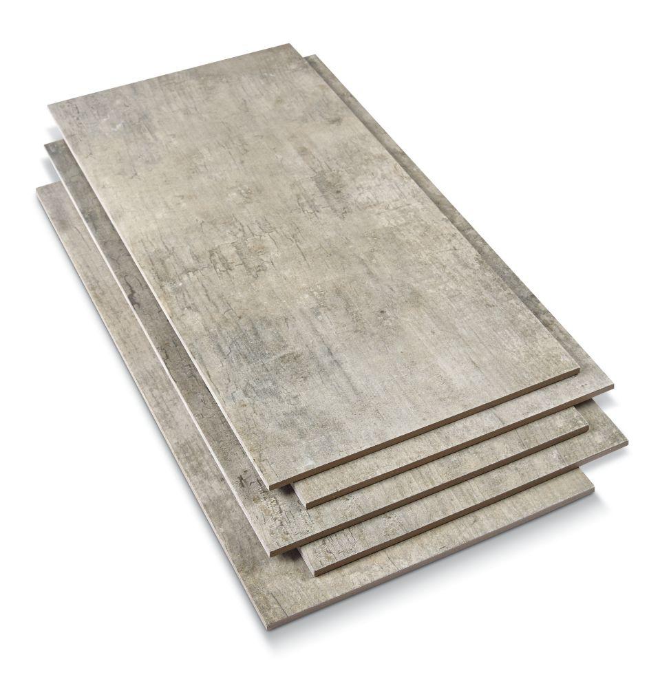 Cimento Grigio 12 Inch x 24 Inch (16.68 sq.ft/cs)