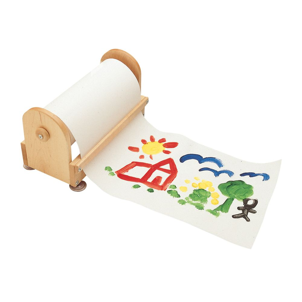 Porte-papier sur table