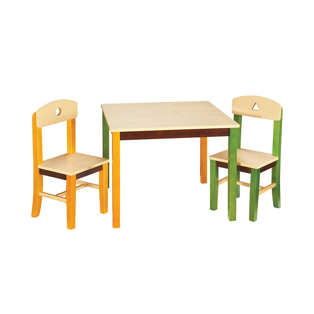 See and Store Table and Chair Set