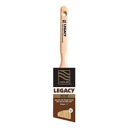 Nour Legacy 2 inch Blended Bristle Angular Brush