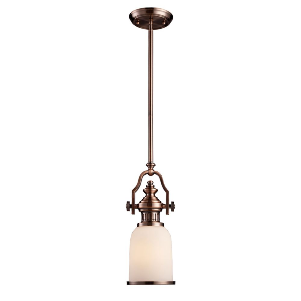 Chadwick 1-Light Pendant In Antique Copper