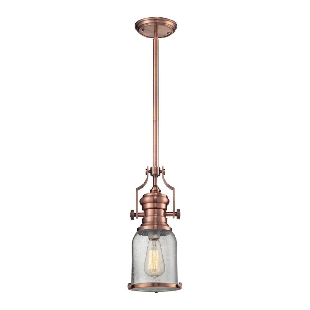Chadwick 1 Light Pendant In Copper