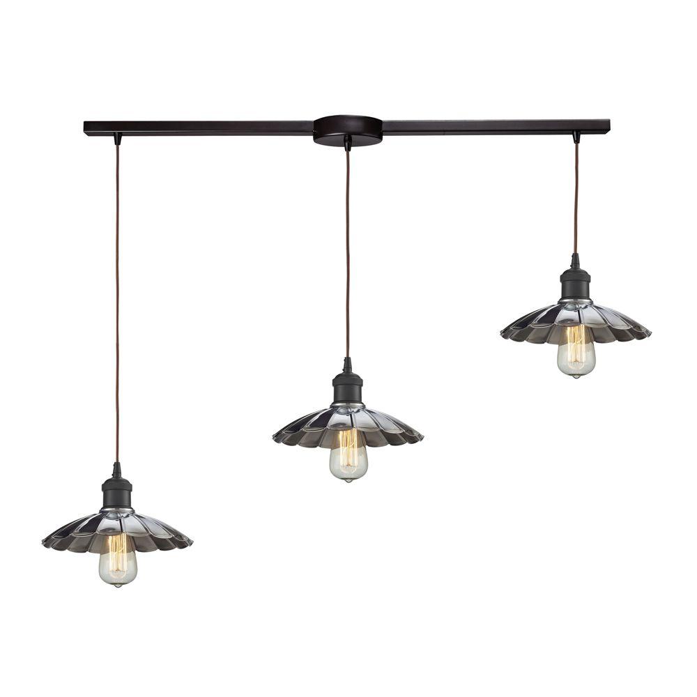 Titan lighting luminaire suspendu 3 ampoules corrine au for Luminaire ampoule suspendu