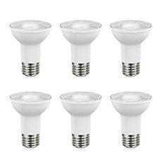 50W Equivalent Bright White (3000K) PAR20 Dimmable LED Flood Light Bulb (6-Pack)