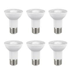 Ecosmart 50W Equivalent Bright White (3000K) PAR20 Dimmable LED Flood Light Bulb (6-Pack) - ENERGY STAR®