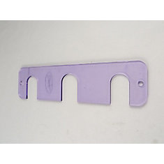 Contractor Pack: 6 Under-Counter Repair Plates for 8 Inch Centres