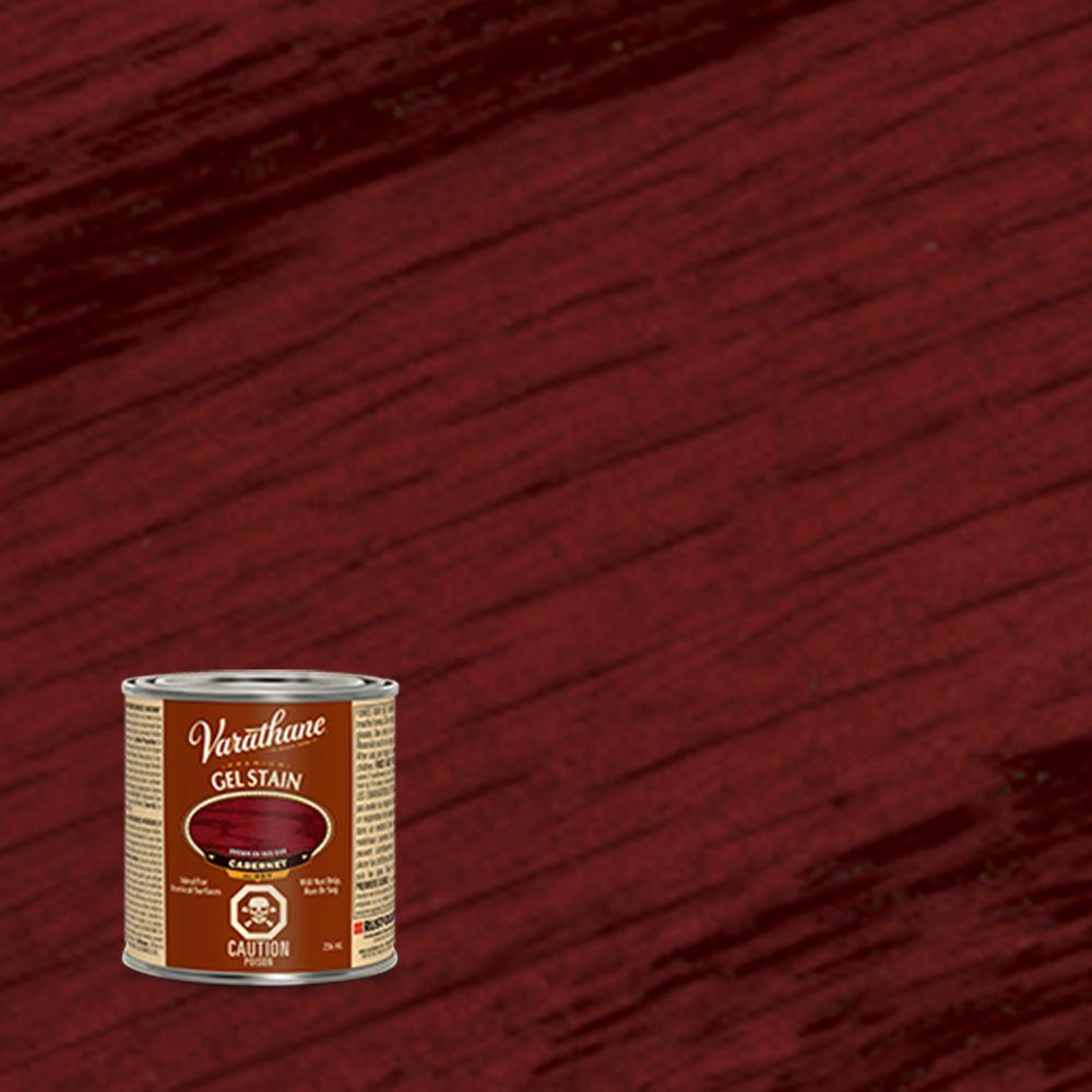 Varathane varathane premium gel stain cabernet 236ml the for Gel stain