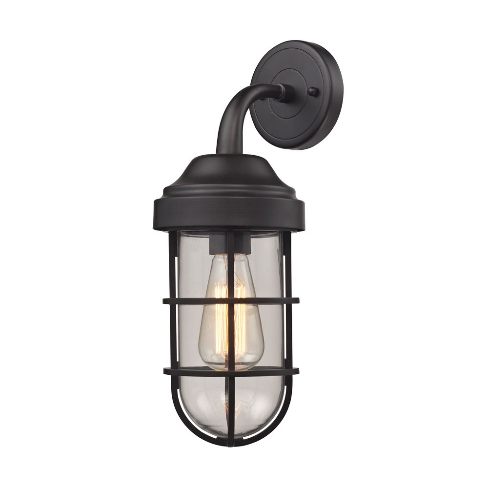 Seaport 1 Light Sconce In Oil Rubbed Bronze TN-1209 Canada Discount