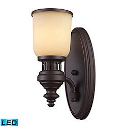 Titan Lighting Chadwick 1-Light Sconce In - LED