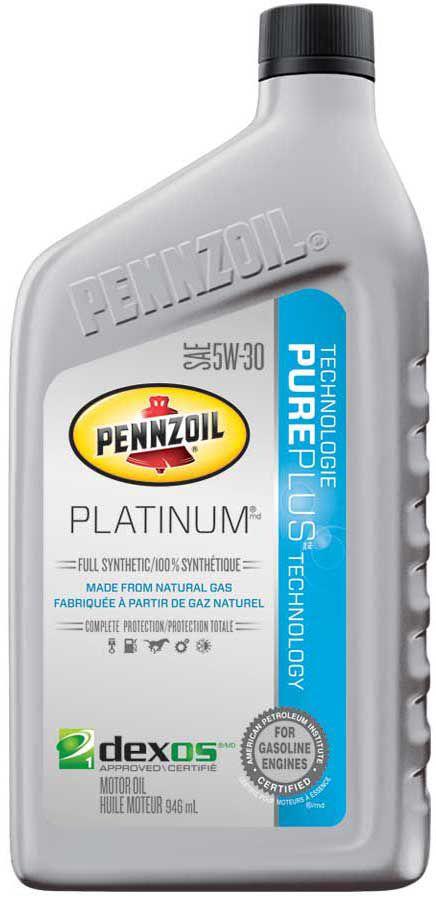 pennzoil pennzoil platinum synthetique 946ml 5w30 huile moteur home depot canada. Black Bedroom Furniture Sets. Home Design Ideas