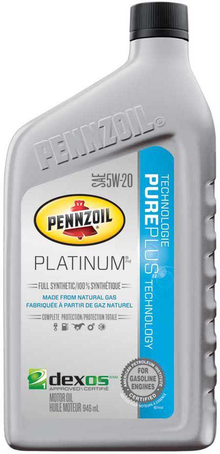 Pennzoil 5W20 946 Ml Bottle