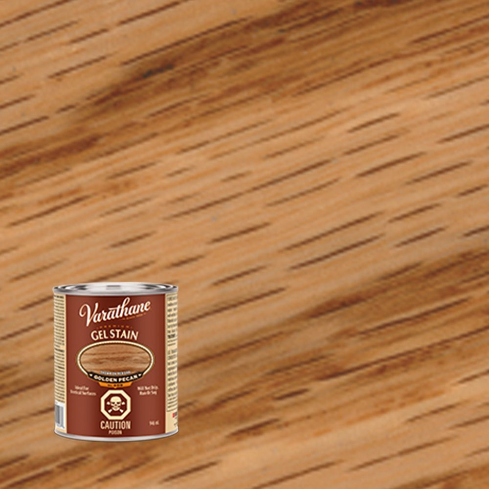 Varathane Premium Gel Stain Golden Pecan  946ml