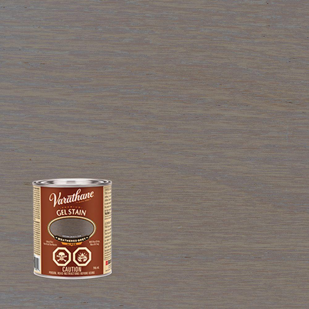 VARATHANE TEINTURE EN GEL PREMIER GRIS VIEILLI 946ML