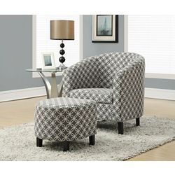 Monarch Specialties Chaise DAppoint