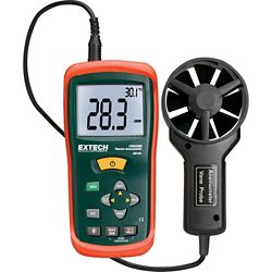 Extech Instruments CFM/CMM Mini Thermo-Anemometer