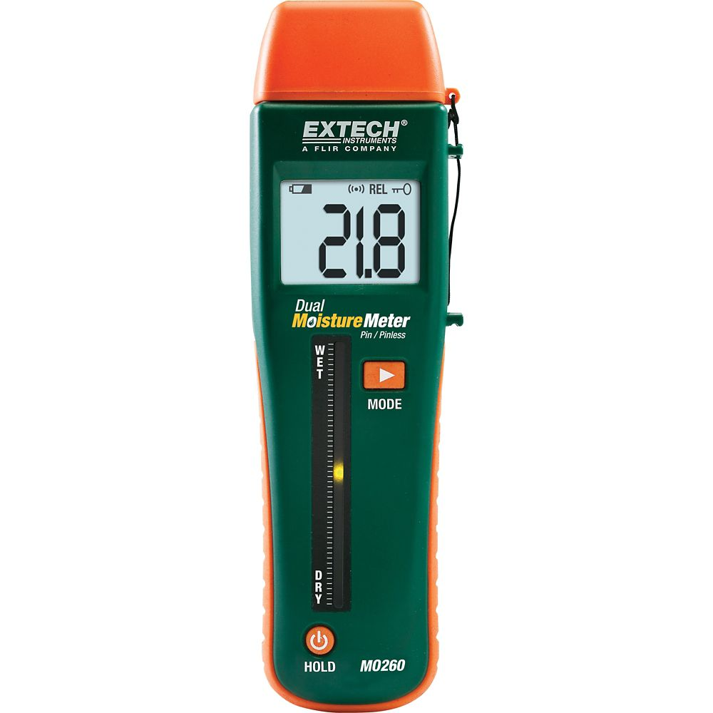 Extech Instruments Combination Pin/Pinless Moisture Meter