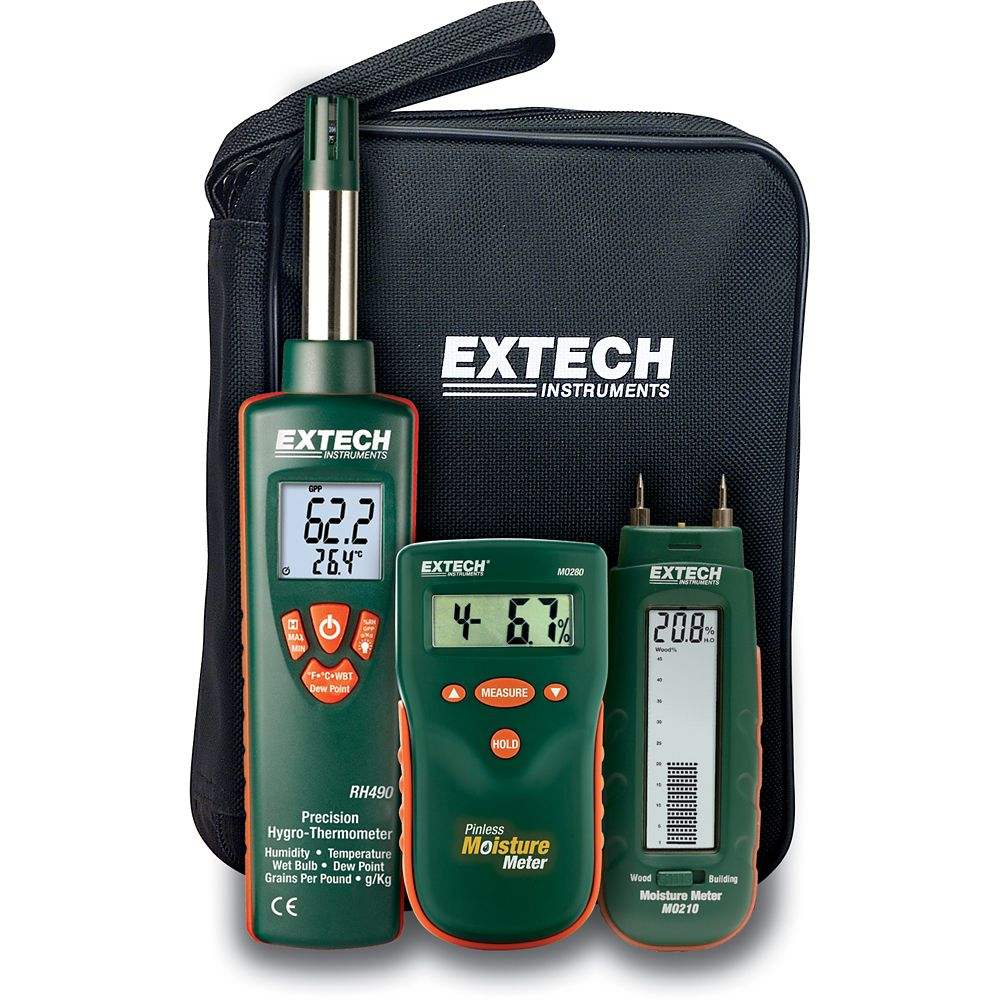 Extech Instruments Water Damage Restoration Kit