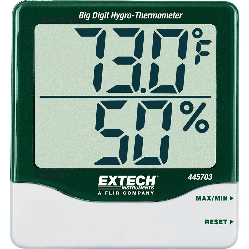 Big Digit Hydro-Thermometer 445703 Canada Discount