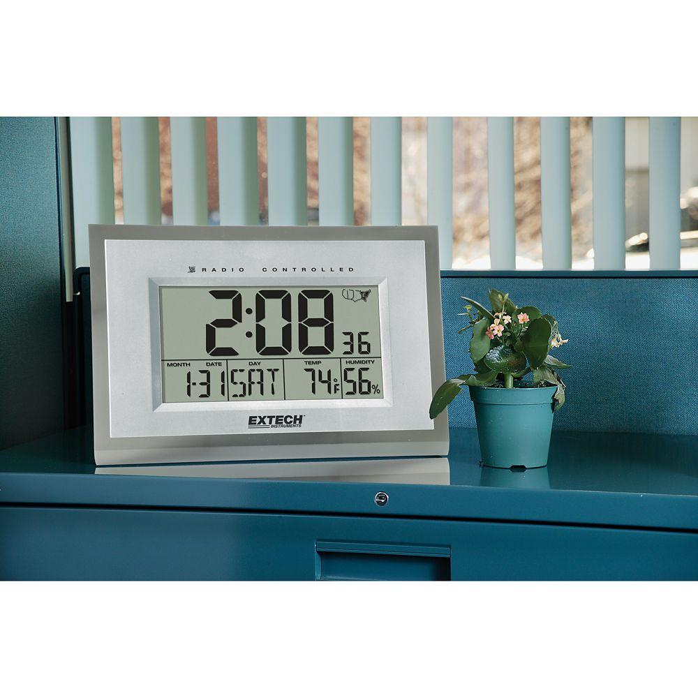 Hydro-Thermometer Alarm Clock