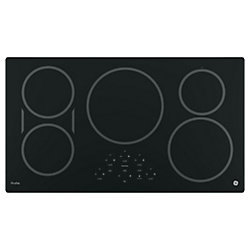 GE Profile  36- Inch  Electric Cooktop in Black