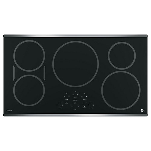 Profile  36- Inch  Electric Cooktop in Stainless Steel