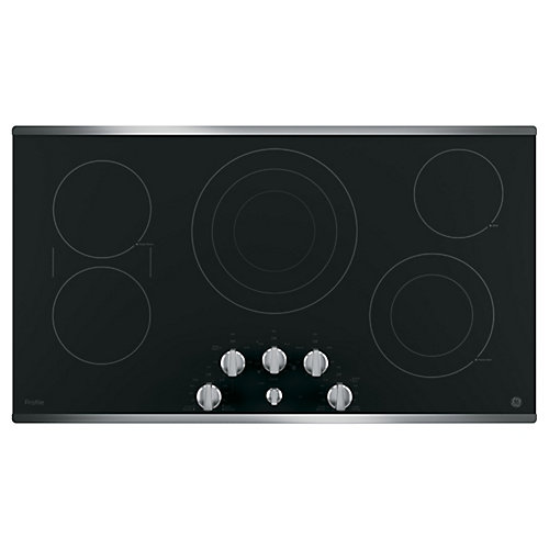 Stainless Steel 36 Inch  Electric Cooktop
