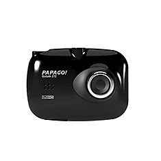 PAPAGO! GS272-US GoSafe 272 Full HD 1080P Ultra Slim Dashcam 2.4-inch LCD Wide Screen (Black)