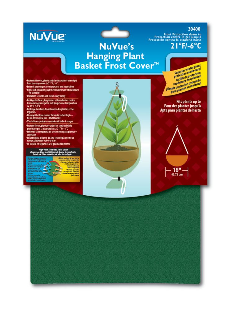 Hanging Plant Basket Frost Cover�