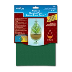 NuVue Products Hanging Plant Basket Frost Cover